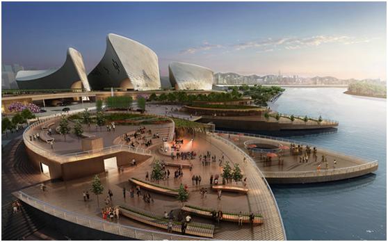 浩科CTV成功进驻海峡文化艺术中心项目
